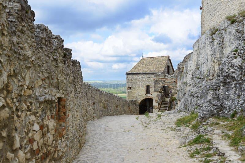 Sumeg-Schloss ungarn lizenzfreies stockfoto