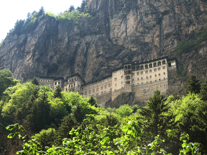 sumela μοναστηριών στοκ εικόνες