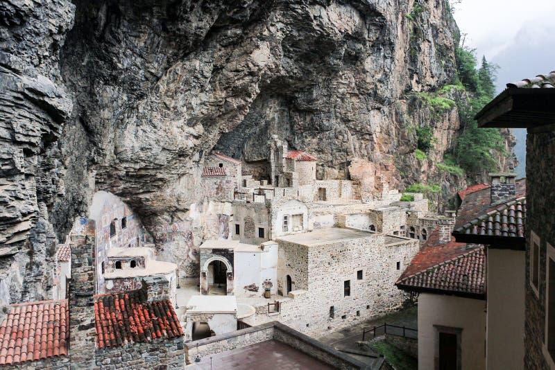 Sumela — mosteiro grego em Trabzon, Turquia fotografia de stock