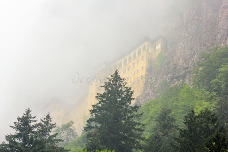 Sumela Greek Monastery em Trabzon, Turquia fotografia de stock