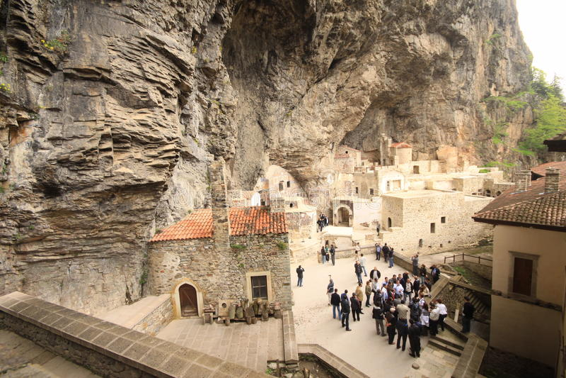Download Sumela Monastery editorial stock photo. Image of rock - 23808543