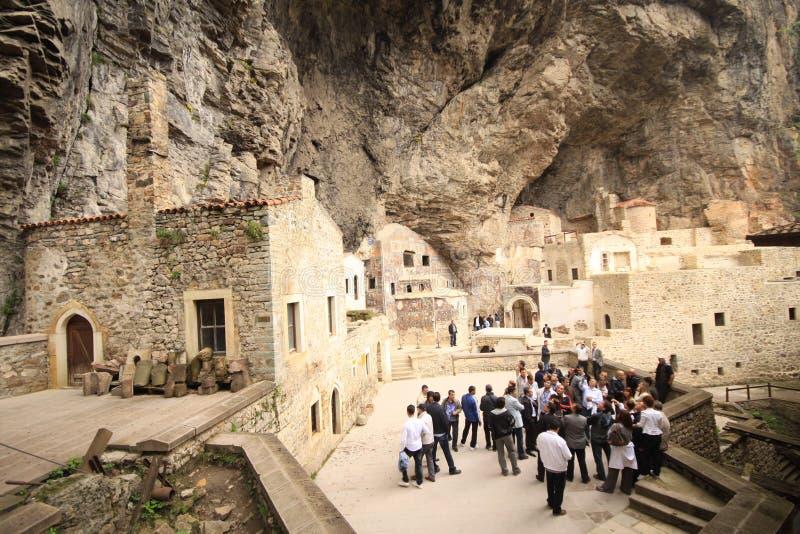 Sumela Monastery royalty free stock photo