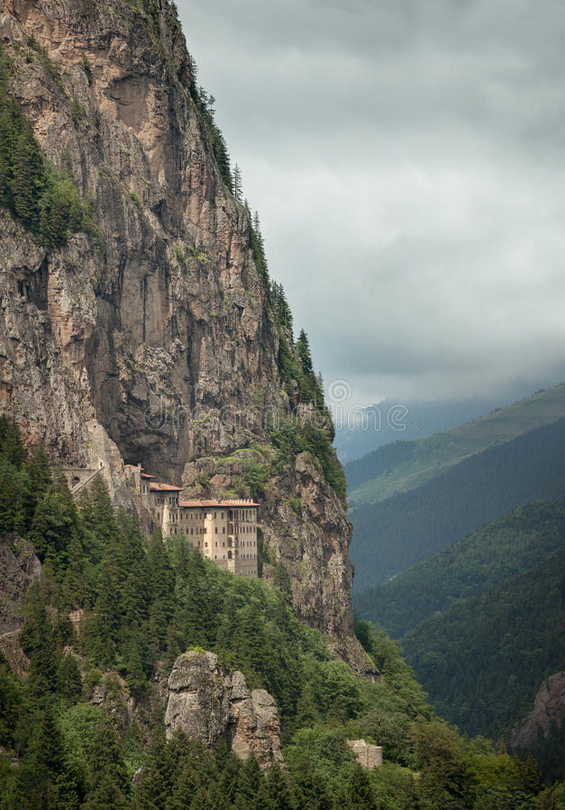 Download Sumela Monastery stock image. Image of sumela, touristic - 26133177