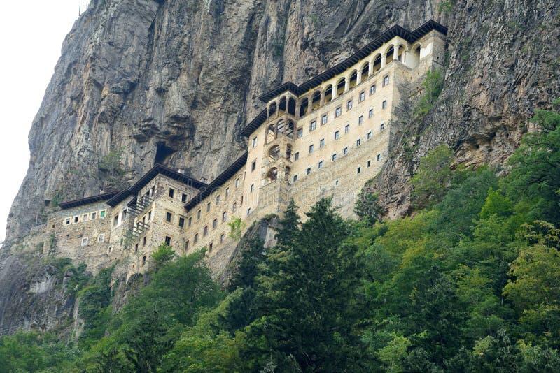 Sumela Monastery auf der Schwarzmeerküste von der Türkei stockbild