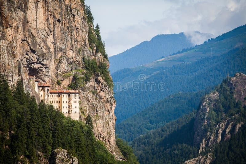 Sumela Monastery em Turquia imagem de stock