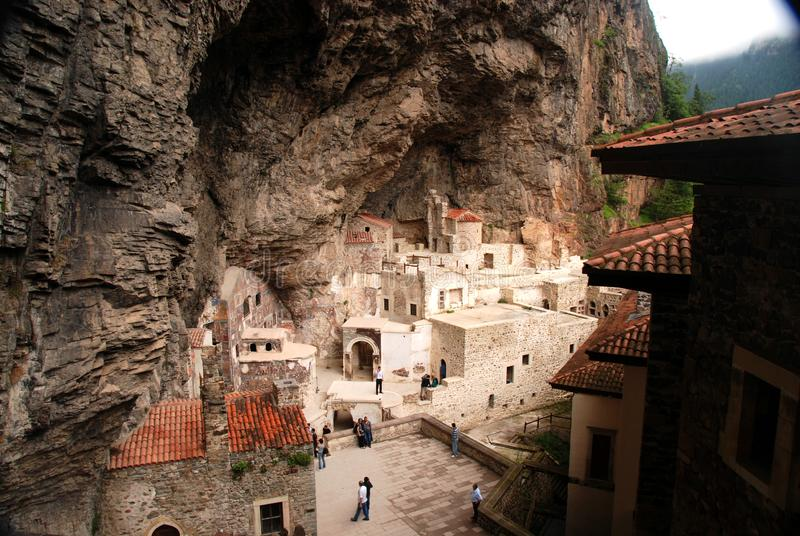 Sumela Monastery en Turquie orientale pr?s de Trabzon image libre de droits