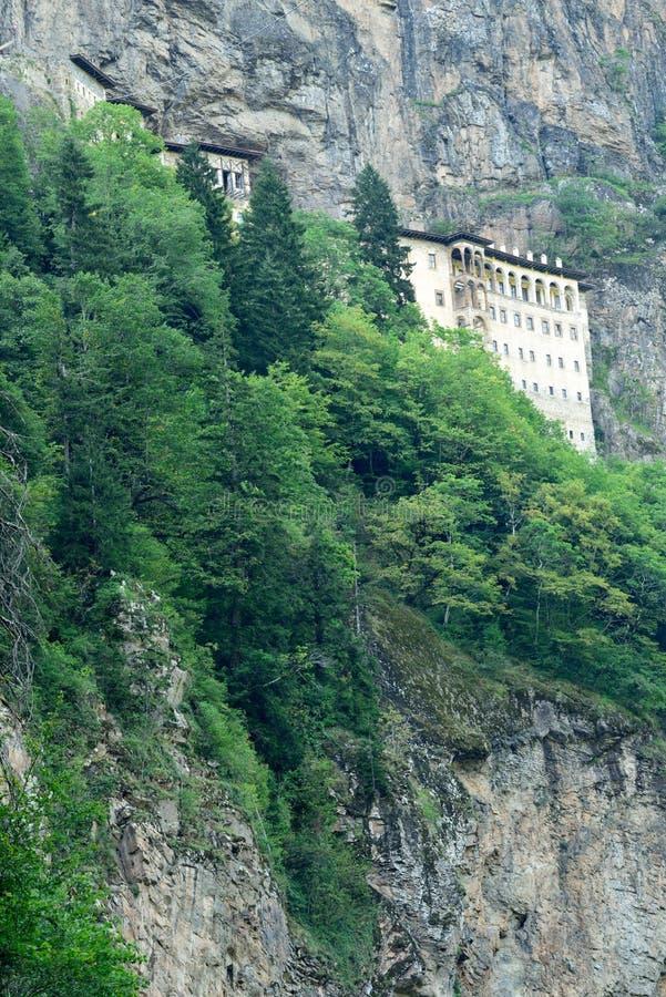 Sumela Monastery na costa do Mar Negro de Turquia imagem de stock royalty free