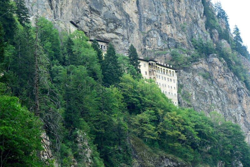 Sumela Monastery na costa do Mar Negro de Turquia foto de stock royalty free