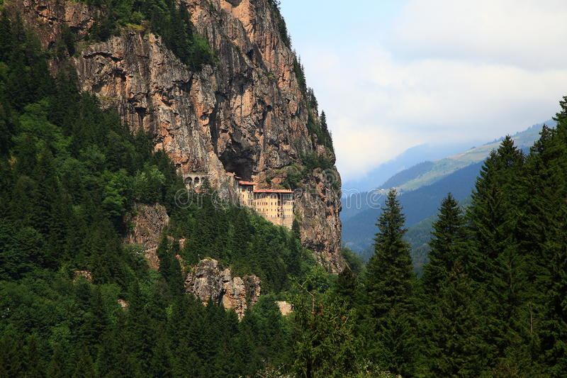 Sumela Monastery royalty free stock photography