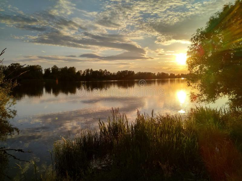 Sumer河 库存照片