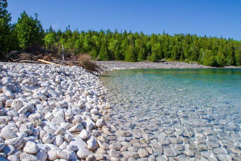 Sumer em Bruce Peninsula National Park Ontario Canadá imagens de stock royalty free