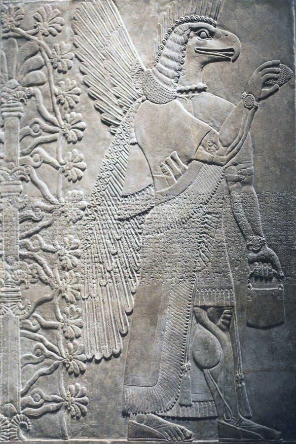 Sumerian annunaki arkivfoton