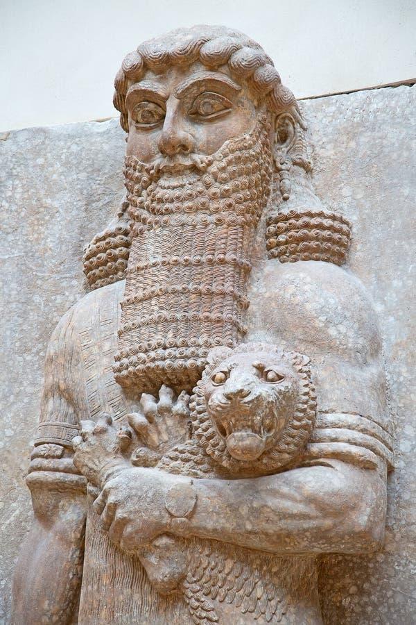 Sumerian kulturföremål arkivfoton