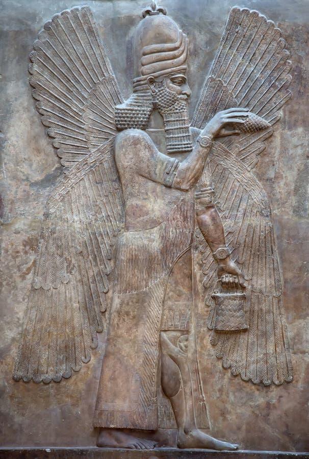 Sumerian kulturföremål arkivbild