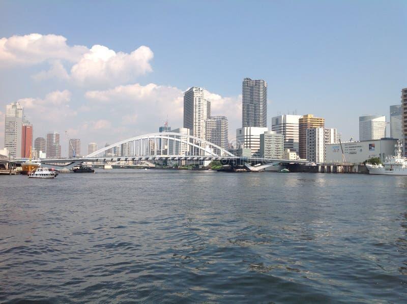 Sumida河在东京 图库摄影