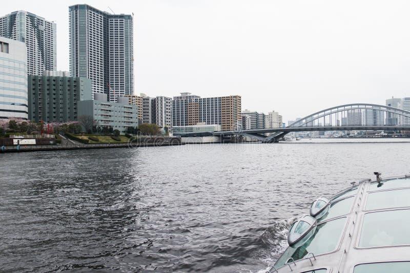 Sumida rejsu Rzeczny widok zdjęcie royalty free