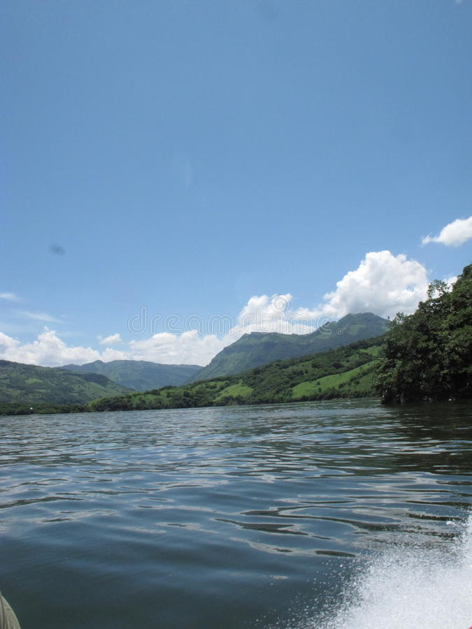 Sumidero峡谷  免版税库存照片