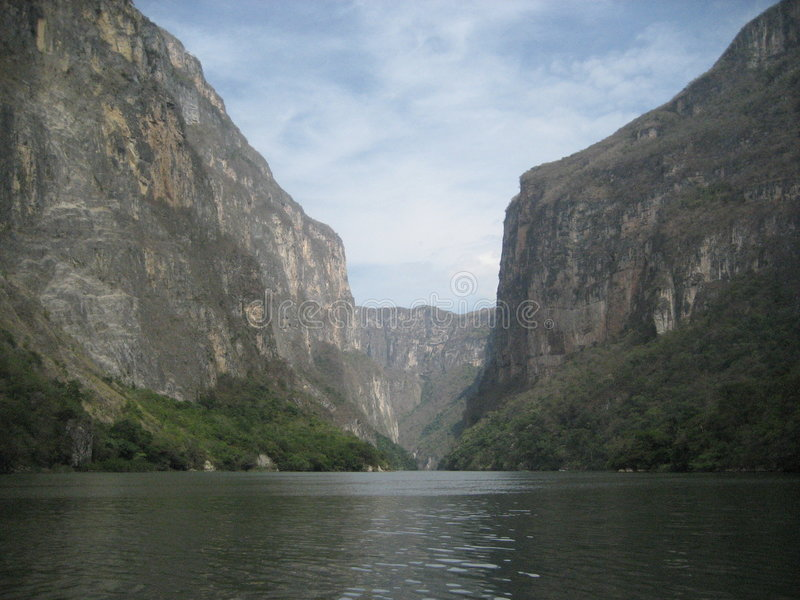 Sumidero Canyon royalty free stock images