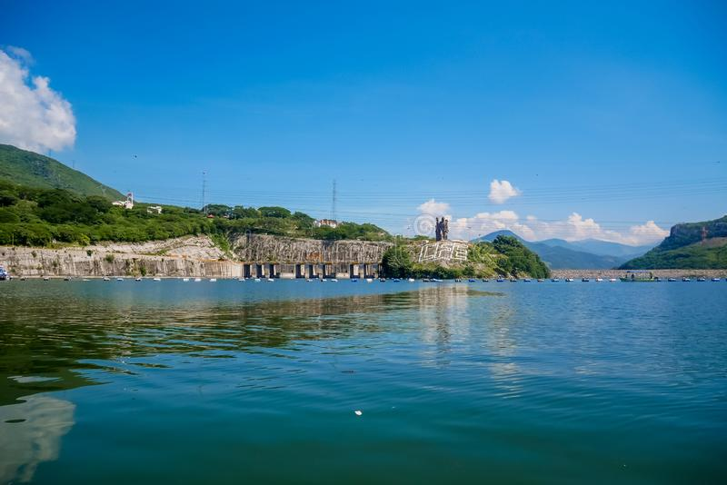 Sumidero jaru elektrownia - Chiapas, Meksyk zdjęcia royalty free