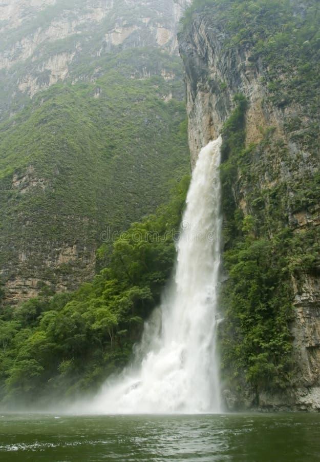 sumidero wodospadu canyon obraz royalty free