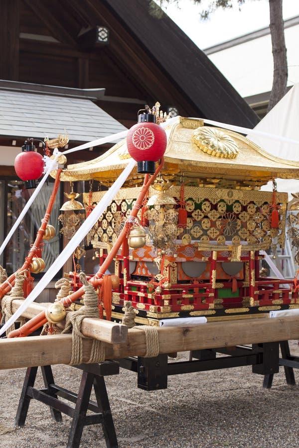 Sumiyoshi寺庙 免版税库存图片