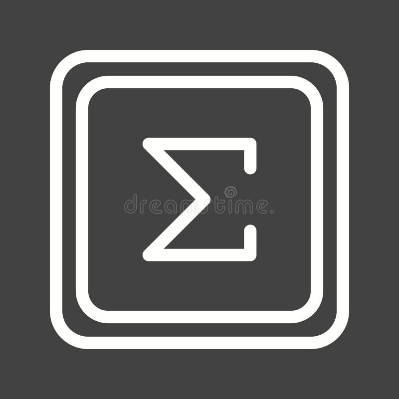 Summation Symbol Stock Illustration Illustration Of Question 96797849