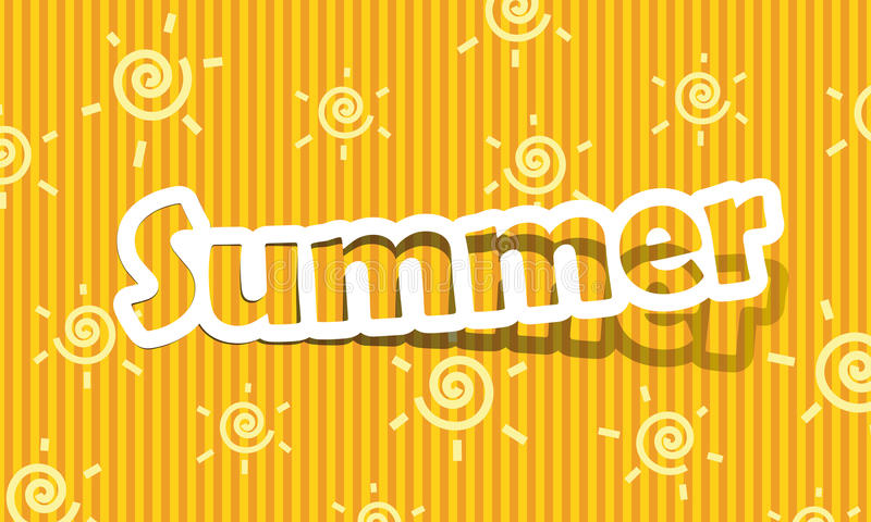 Download Summer stock illustration. Image of picture, backdrop - 24971670