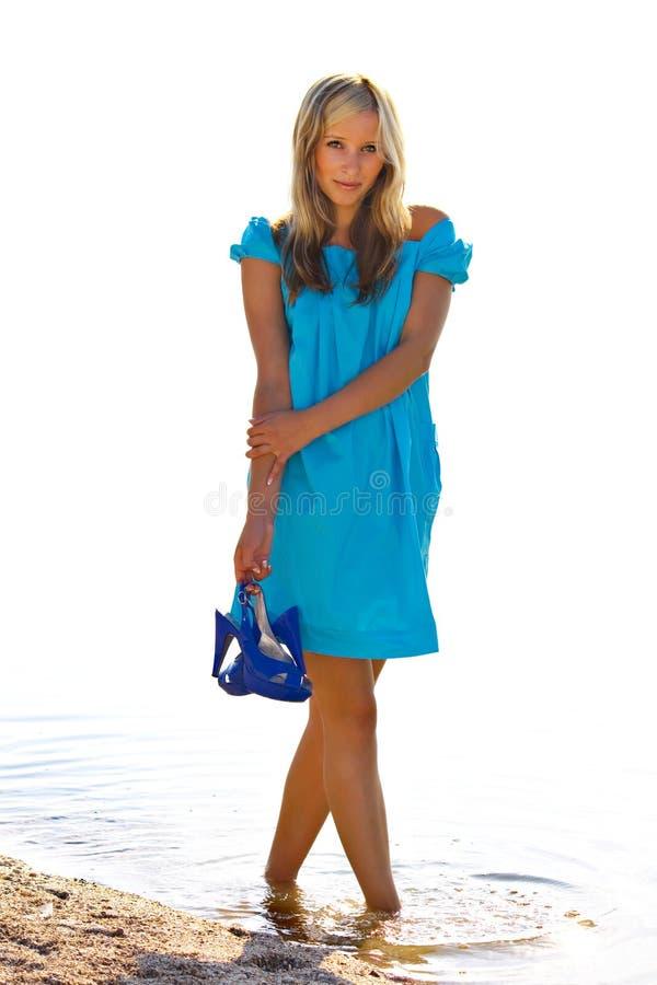 Download Summer stock photo. Image of fashion, female, girl, pendant - 9575302