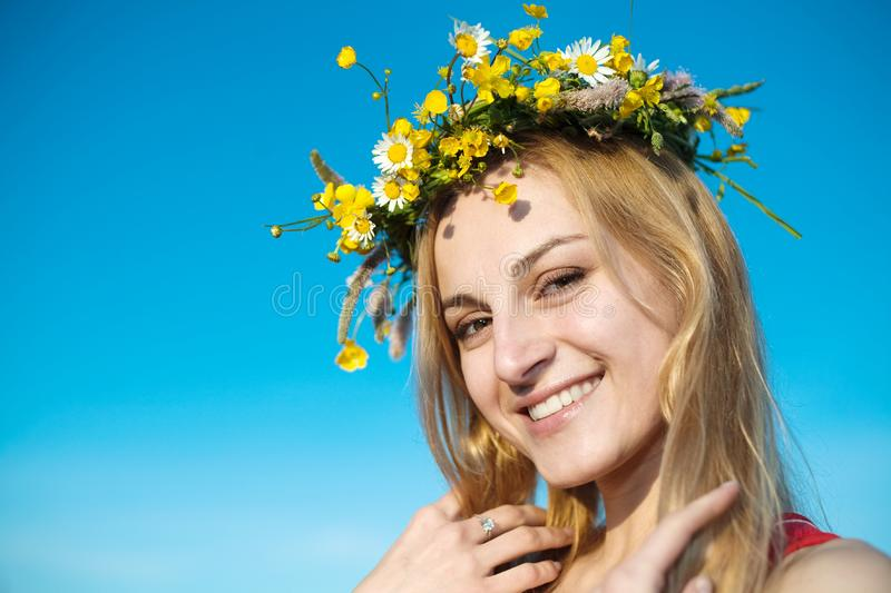 In summer stock photography