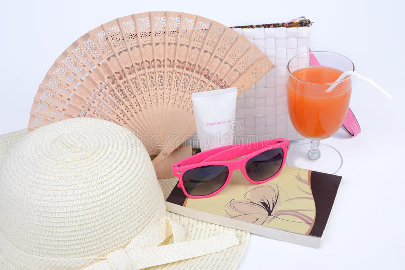 Download Summer stock image. Image of isolate, sunblock, lady - 31327643