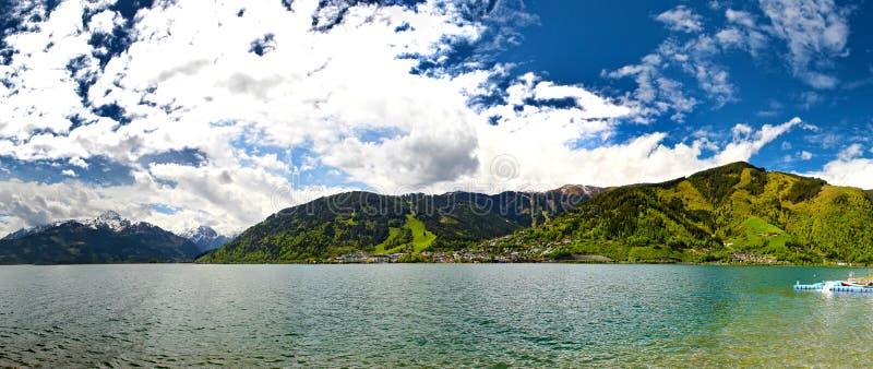 Summer Alps stock photo