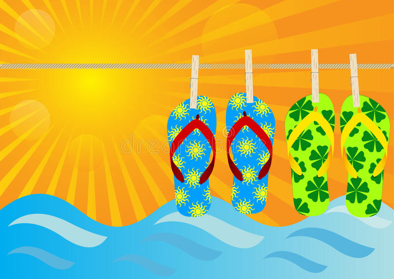 Download Summer Background stock vector. Illustration of beach - 20051483