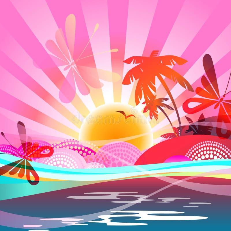 Download Summer background stock illustration. Image of love, light - 26513825