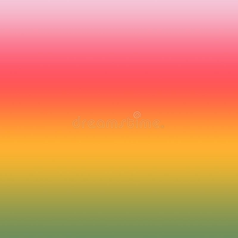 Summer Background Colorful Gradient Ombre Multi Colored Pattern royalty free illustration