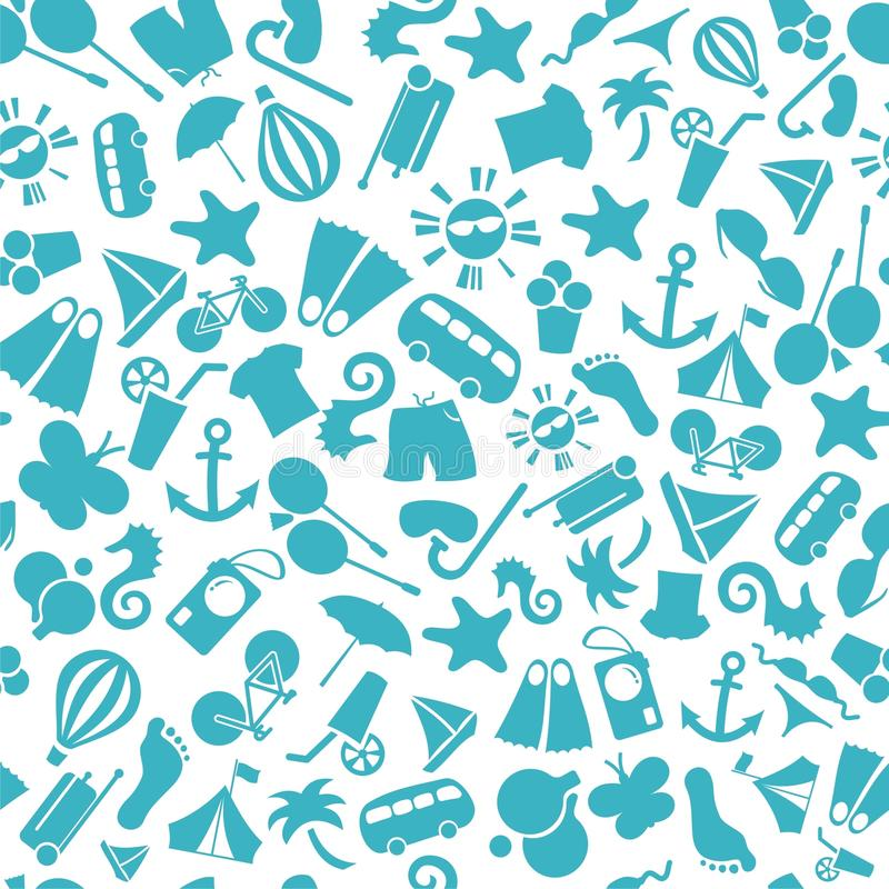Summer background pattern royalty free stock photo