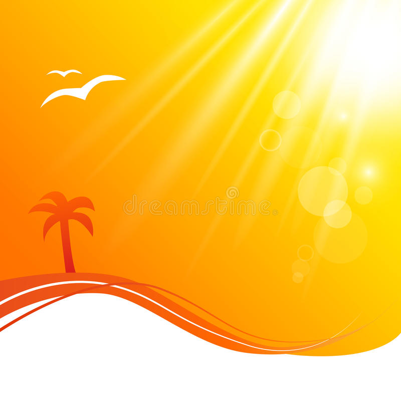 Download Summer Background stock vector. Image of glow, explosion - 30465019