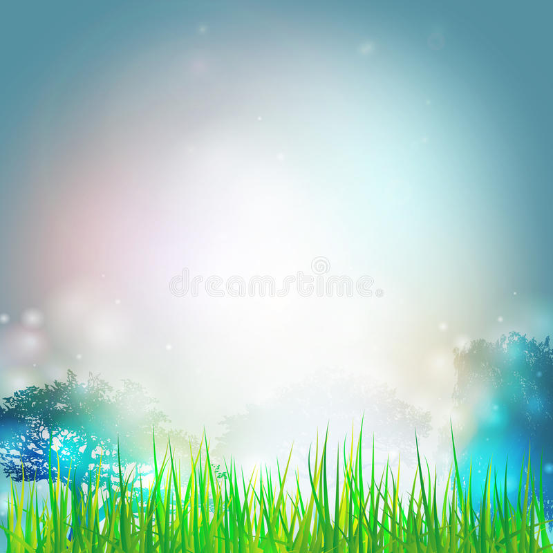 Summer background. Vector design for print or web royalty free illustration
