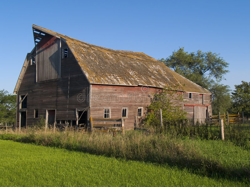Summer Barn royalty free stock photo