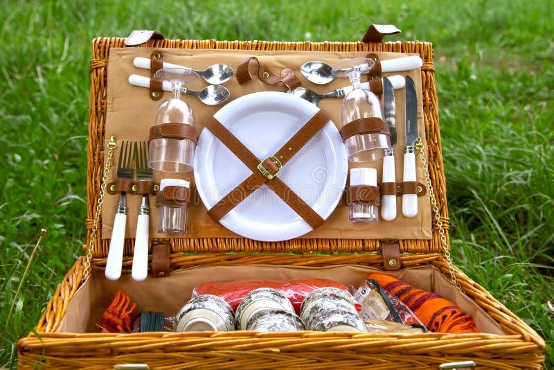 Summer Basket Stock Image