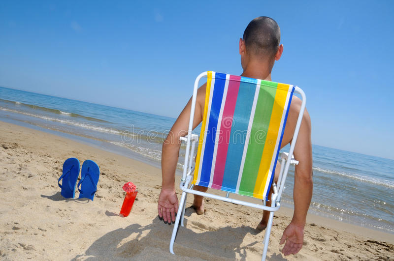 Download Summer on the beach stock photo. Image of heat, horizontal - 24388196