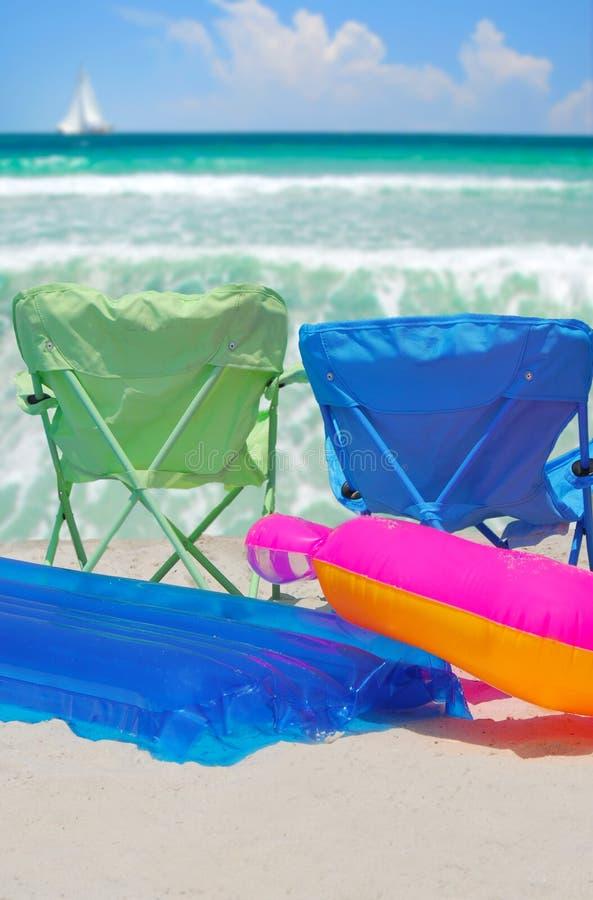 Summer On The Beach Stock Photography