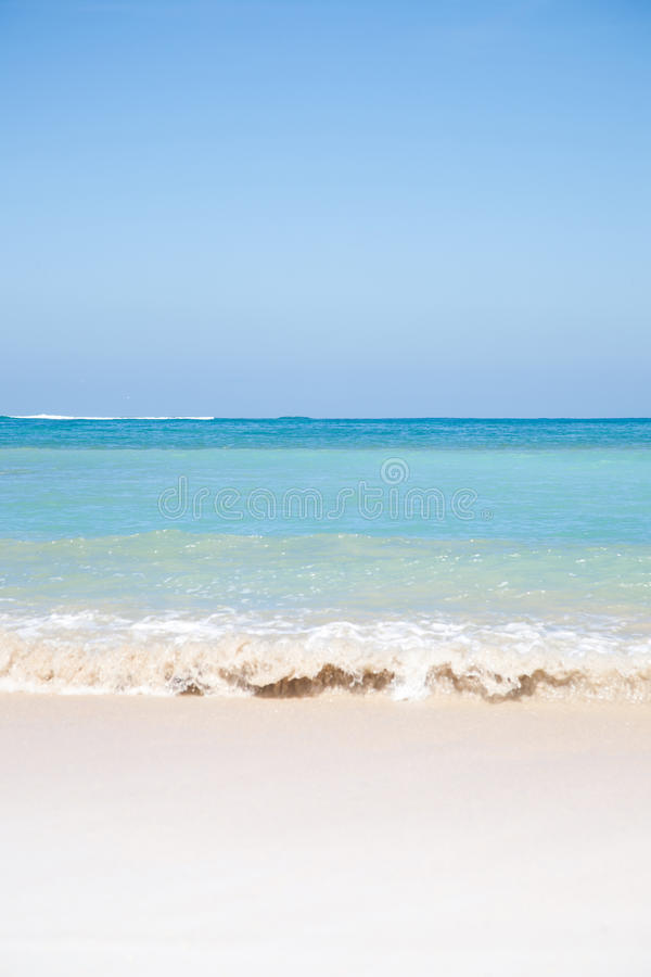 Download Summer Beach Background With Clean Sand Stock Photo - Image of blue, ocean: 20348492