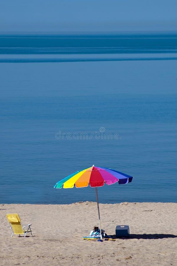 summer beach scene stock photos