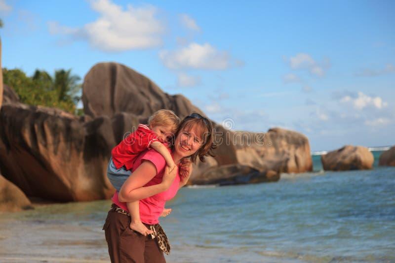 Summer beach vacation royalty free stock image