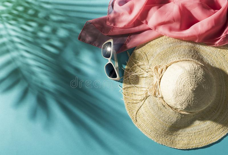 Summer beach vacations and tropical destinations royalty free stock photo