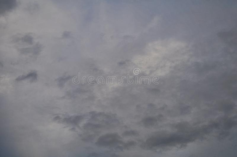 Summer beautiful nature cloud on blue sky for display product or background or wallpaper stock image