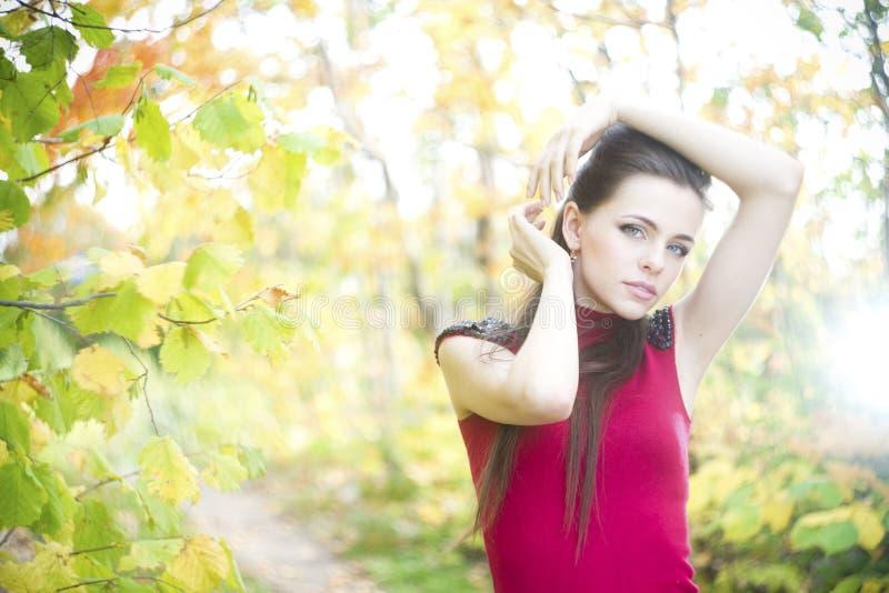 Summer beauty girl portrait royalty free stock image