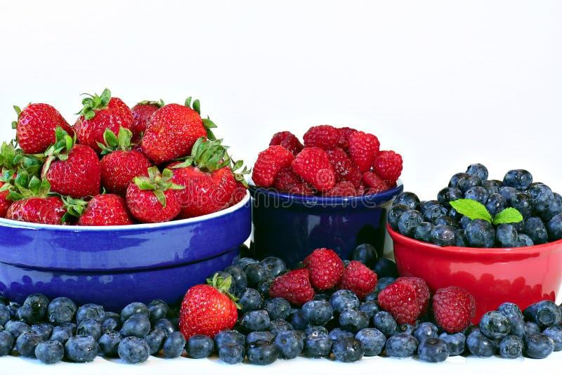 Download Summer berries stock image. Image of mint, eating, antioxidants - 2755145