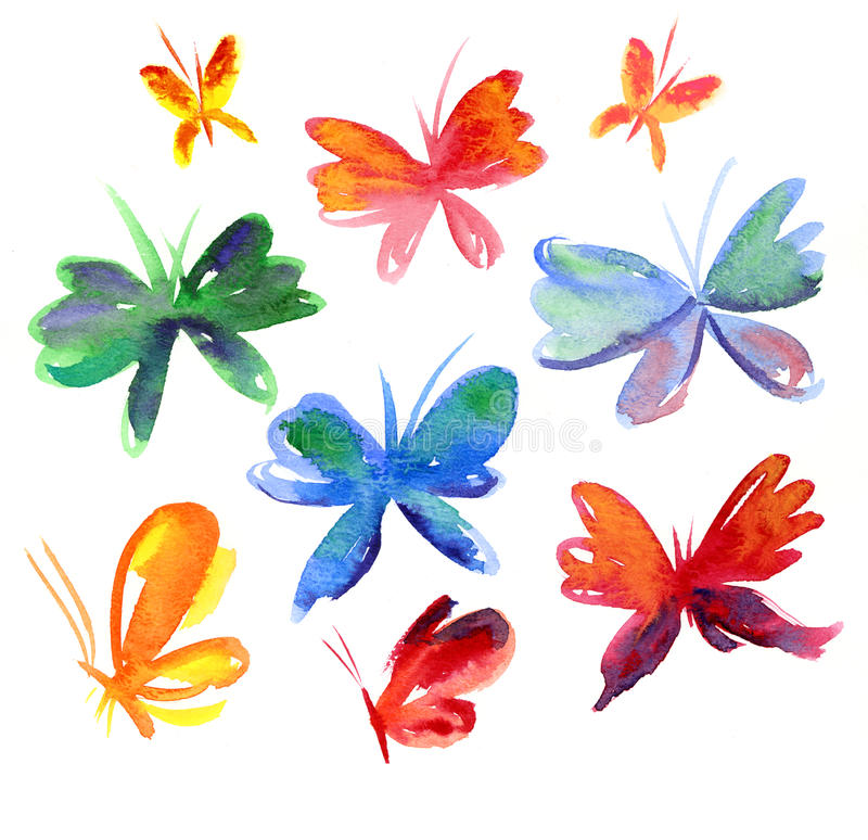 Download Summer  butterfly stock illustration. Image of butterfly - 23940729