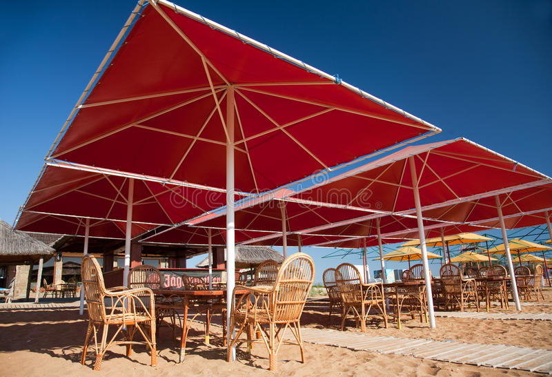 Summer cafe stock photography